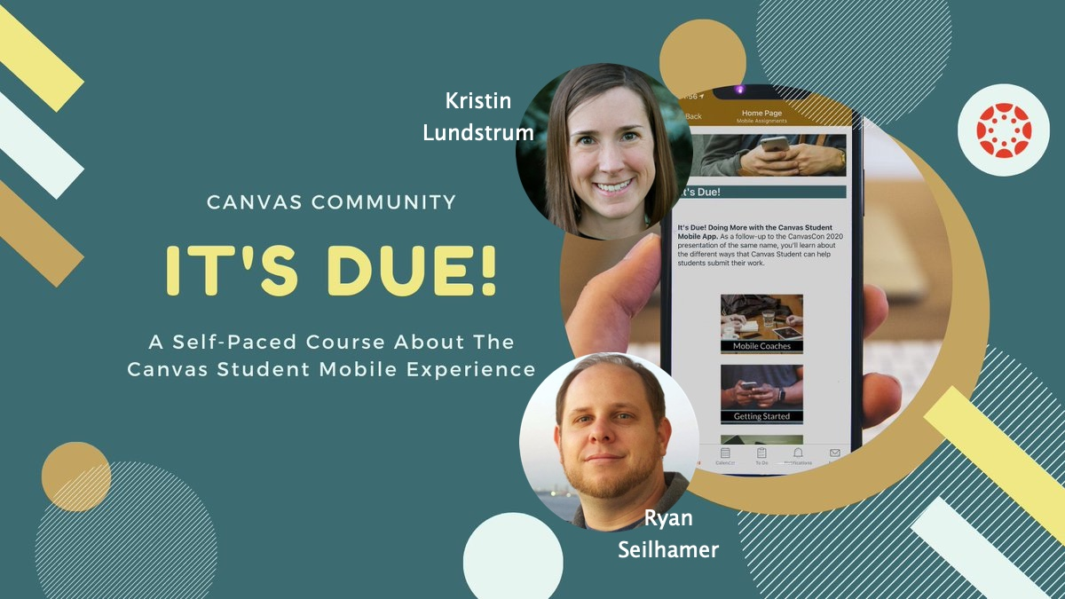 Click this image to read more about the Canvas Student Mobile Experience self-paced course.